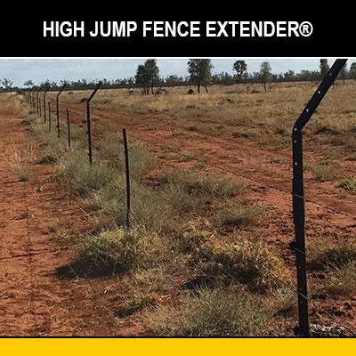 High Jump Fence Extender