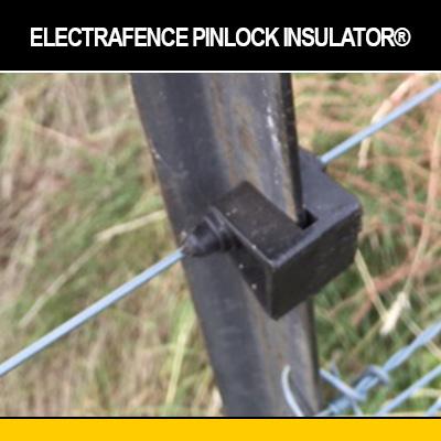 ElectraFence Pinlock Insulator